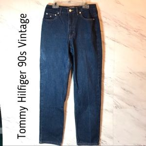 Tommy Hilfiger Vintage Triple T High-Waisted Jeans